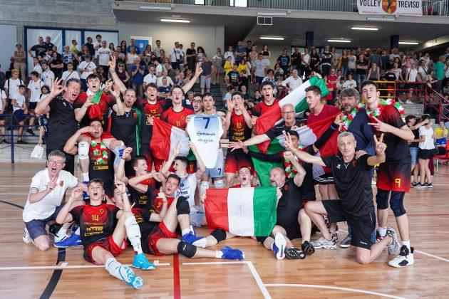 Finale Nazionale Giovanile Crai U18 maschile: Treviso sul