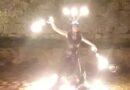 """Sarteano: si conclude stasera al Castello, con grande successo, la """"tre giorni """"di Civitas Infernalis organizzata dalla Giostra del Saracino. Per tre giorni la Rocca ha vissuto i colori e la gioia delle cinque contrade che hanno dovuto rinunciare alla Giostra causa Coronavirus"""