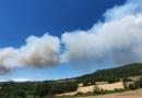 Sotto controllo l'incendio boschivo di Civitella Paganico (Gr)
