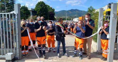 Castiglion Fiorentino : inaugurata la nuova sede della VAB (volontari antincendio boschivi)
