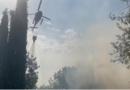 Asciano : spento l'incendio divampato ieri nel comune, bruciati 150 ettari