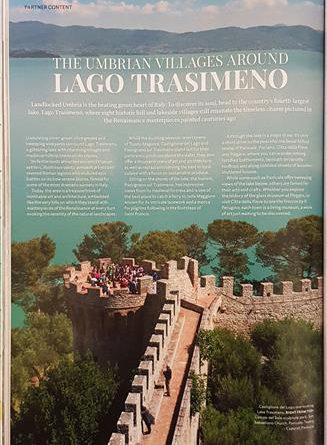 Prosegue la campagna di promozione dell'Unione dei comuni del Trasimeno: un servizio sul National Geographic edizione inglese