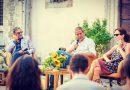 """San Casciano dei Bagni: è partito alla grande con più di 400 persone il primo appuntamento culturale de """"la Terrazza"""" con Sergio Castellitto e Margaret Mazzantini . Più che soddisfatta il sindaco Agnese Carletti."""