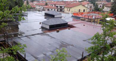 Castiglion Fiorentino : completato il primo step dei lavori per il tetto della scuola dell'infanzia Brogi