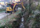 Montevarchi: via ai sedimenti accumulati nell'Ornaccio e nel borro Valdilago.